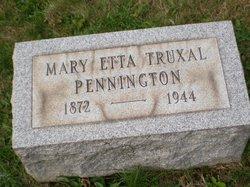 Mary Etta <i>Truxal</i> Pennington
