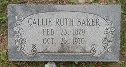 Callie Ruth Baker
