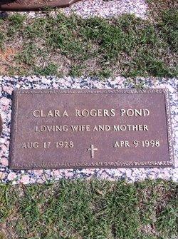 Clara Inez <i>Lambiotte</i> Pond