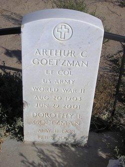 Dorothy E Goetzman