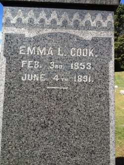 Emma L <i>Tuttle</i> Cook