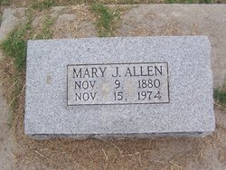 Mary Jane <i>Quillan</i> Allen