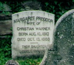 Margaret <i>Precoor</i> Warner