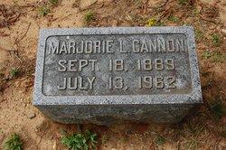 Marjorie L Jackson <i>Satterfield</i> Cannon