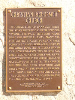 Nobleford Christian Reform Cemetery