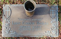 Lucy Carrie <i>Cotton Walden</i> Starks