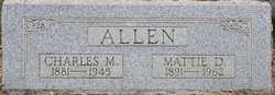 Mattie Dora <i>Conner</i> Allen