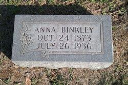 Annie Lula <i>Cooley</i> Binkley