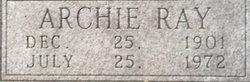 Archie Ray Bingham