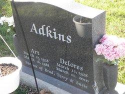 Helen Delores Dee <i>Lett</i> Adkins