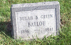 Beulah Bell <i>Greene</i> Ballou