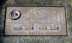 Tillman A Bates