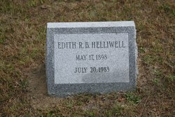 Edith Rodman Dee Dee <i>Babcock</i> Helliwell