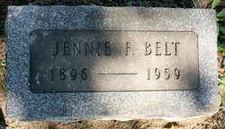 Jennie <i>Fisher</i> Belt