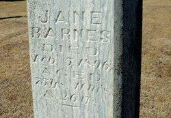 Jane <i>Gibson</i> Barnes