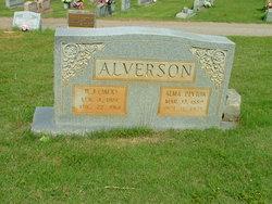 Alma <i>Peyton</i> Alverson