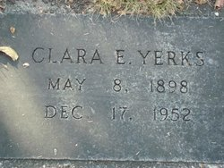 Clara E Yerks
