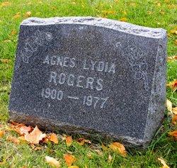 Agnes Lydia <i>Davis</i> Rogers