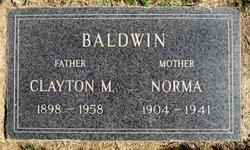 Norma <i>Van Wagoner</i> Baldwin