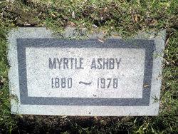 Myrtle <i>Cook</i> Ashby