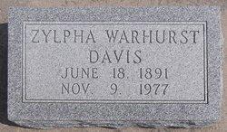 Zylpha <i>Warhurst</i> Davis