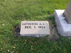 Catherine Ann <i>Hacket</i> Dir