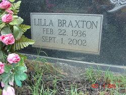 Lilla <i>Braxton</i> Evans