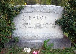Harriet E. Hattie <i>Burdo</i> Balof