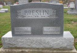 Sarah E. <i>Welch</i> Breslin