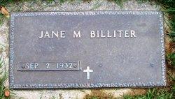 Jane M. <i>Schimmel</i> Billiter