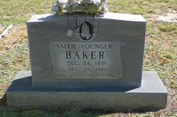 Sallie <i>Younger</i> Baker