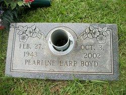 Pearline <i>Earp</i> Boyd