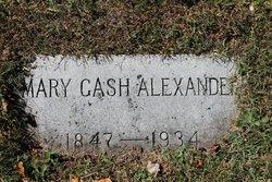 Mary <i>Gash</i> Alexander