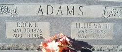 Dock L. Adams