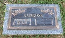 William P Bill Ambrose