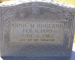 Annie M <i>Davis</i> Hogland
