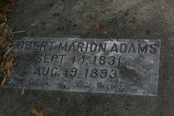 Robert Marion Adams