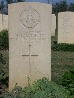 Private Henry Harding Crutchley