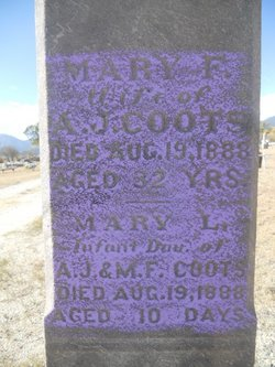 Mary F. <i>Gilkerson</i> Coots
