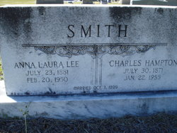 Anna Laura <i>Lee</i> Smith