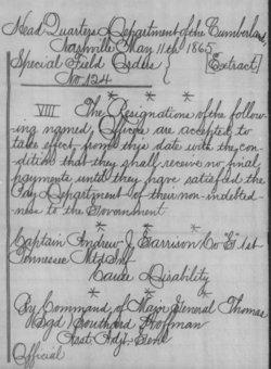 Andrew Jackson Garrison