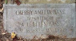 Cherry Amelia Bass
