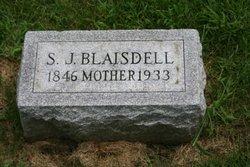 S J Blaisdell