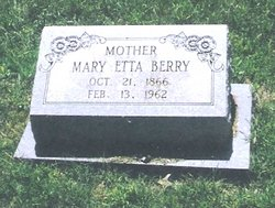 Mary Etta Cornelia <i>Collins</i> Berry
