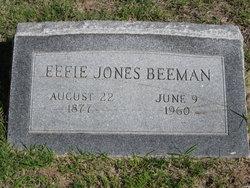 Effie <i>Jones</i> Beeman