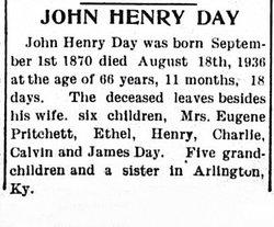 John Henry Day