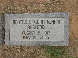 Beatrice <i>Cunningham</i> Ausland