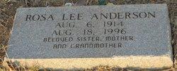 Rosa Lee Anderson