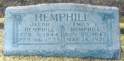 Emily Victoria <i>Jernigan</i> Hemphill