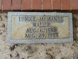 Eunice <i>McManus</i> Waller